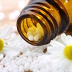 Homeopathy Pills with Flower