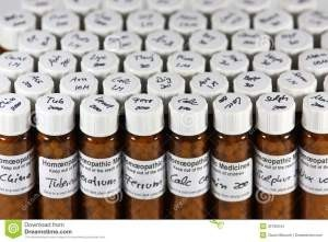 Homeopathic Remedy Bottles