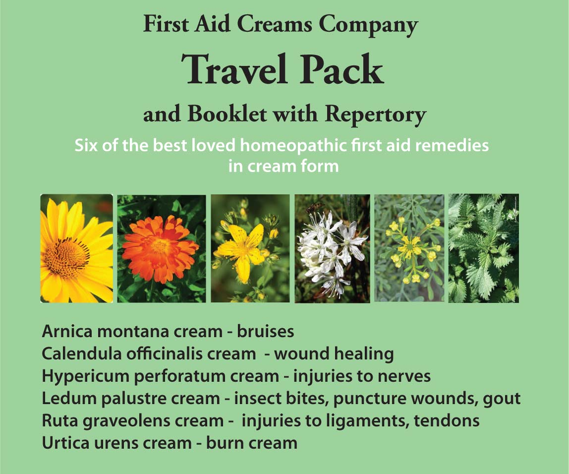 Buy First Aid Creams Travel Pack and Booklet