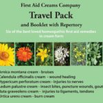 First Aid Creams Travel Pack Cover