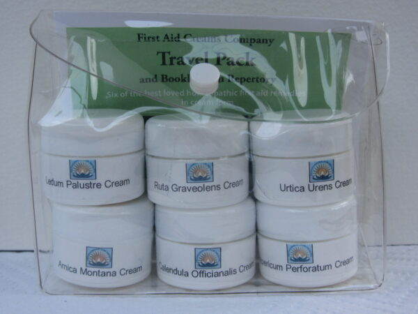 First Aid Creams Travel Pack